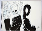 Ghost Rider and Symbiote Spider-Man - ECCC 2012