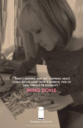 EXPERIENCE CREATIVITY: Ming Doyle by jtchan