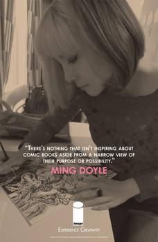EXPERIENCE CREATIVITY: Ming Doyle