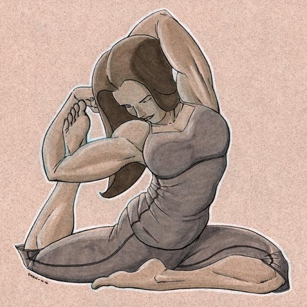 Midtone Yoga by jtchan