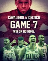 Game 7 - Cavaliers vs Celtics by jtchan