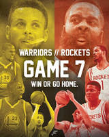 Game 7 - Warriors vs Rockets by jtchan