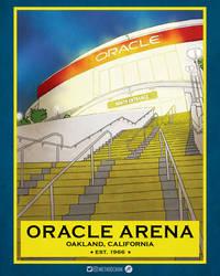 Oracle Arena, est. 1966 by jtchan