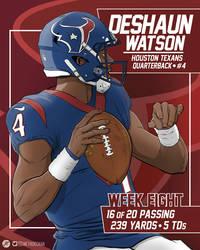 TPT Week 8: Deshaun Watson by jtchan