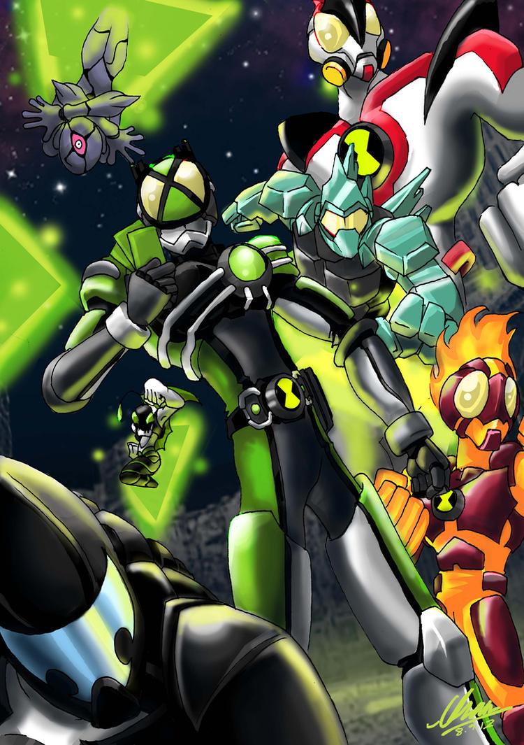 Kamen Rider Omnitrix by KururuLabo