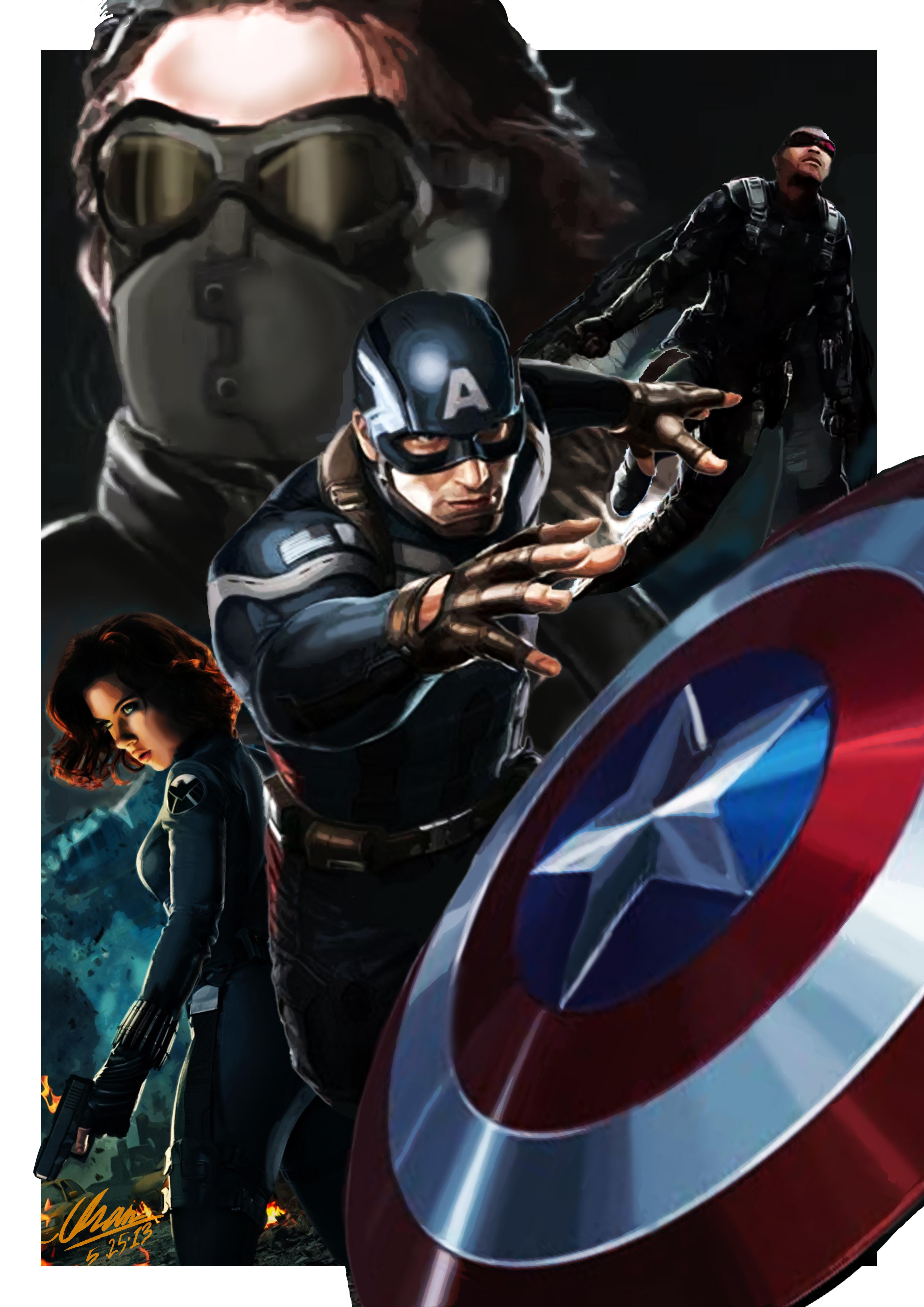 Captain America: Winter Soldier (Fan Made) by KururuLabo on DeviantArt