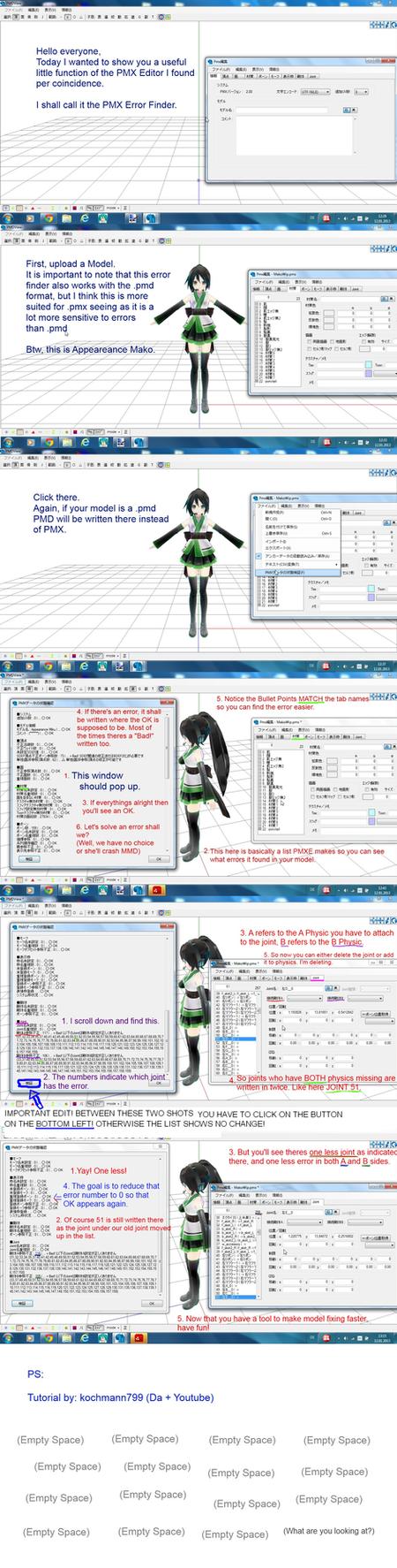 PMX Error Finder! by kochmann799