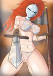 Bikini Knight - Liona by GoldCrustedChicken