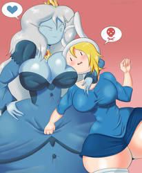 Fionna and Ice Queen