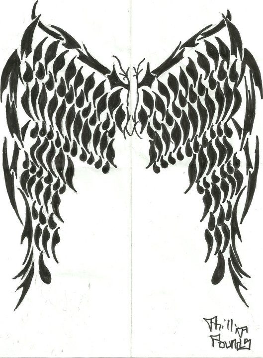 Tribal Wings 2 by Twitchx06 on deviantART