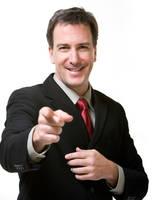 AthenaStock::Man Pointing by AthenaStock