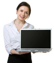 AthenaStock::Laptop Woman