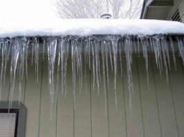 AthenaStock: Icicle Front 1 by AthenaStock