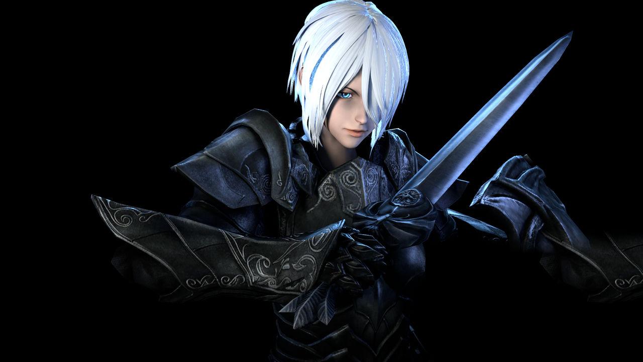 Angel in Ebony Armor