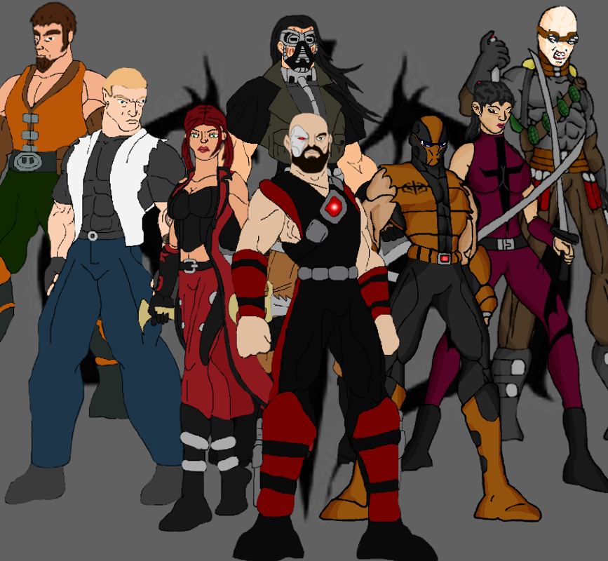 Mortal Kombat Dragon: Black Dragons On Mortal-Kombat-Kobra