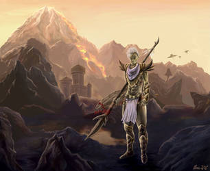 Lord Indoril Nerevar by AlmieLiandri