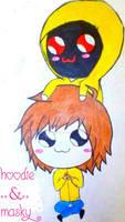 Hoodie and Masky