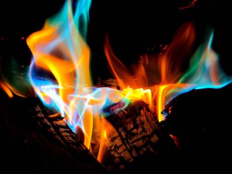 Merry Christmas: Fire Spectrum