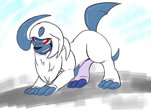 Absol Ready for Battle