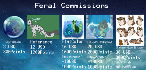 Feral  Commissions List by UkyoLovest