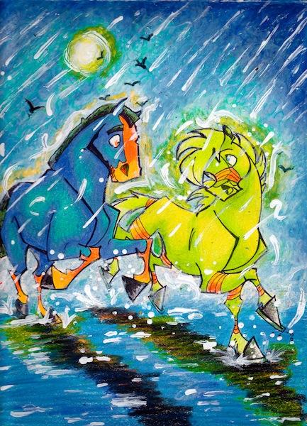 You and Me by horsephantom2