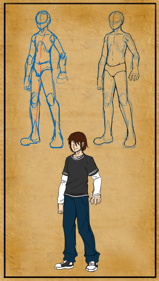 Male teenager anatomy by Master-sweez on DeviantArt