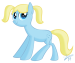 Bubbles as Pony