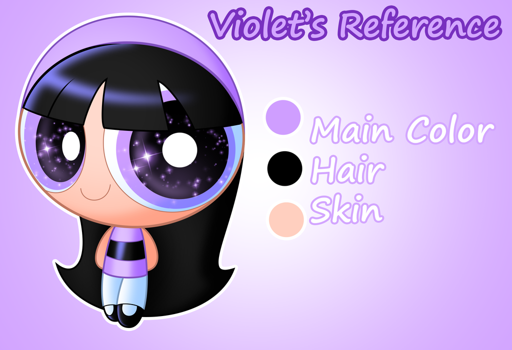 Violet's Reference by Jerimin19
