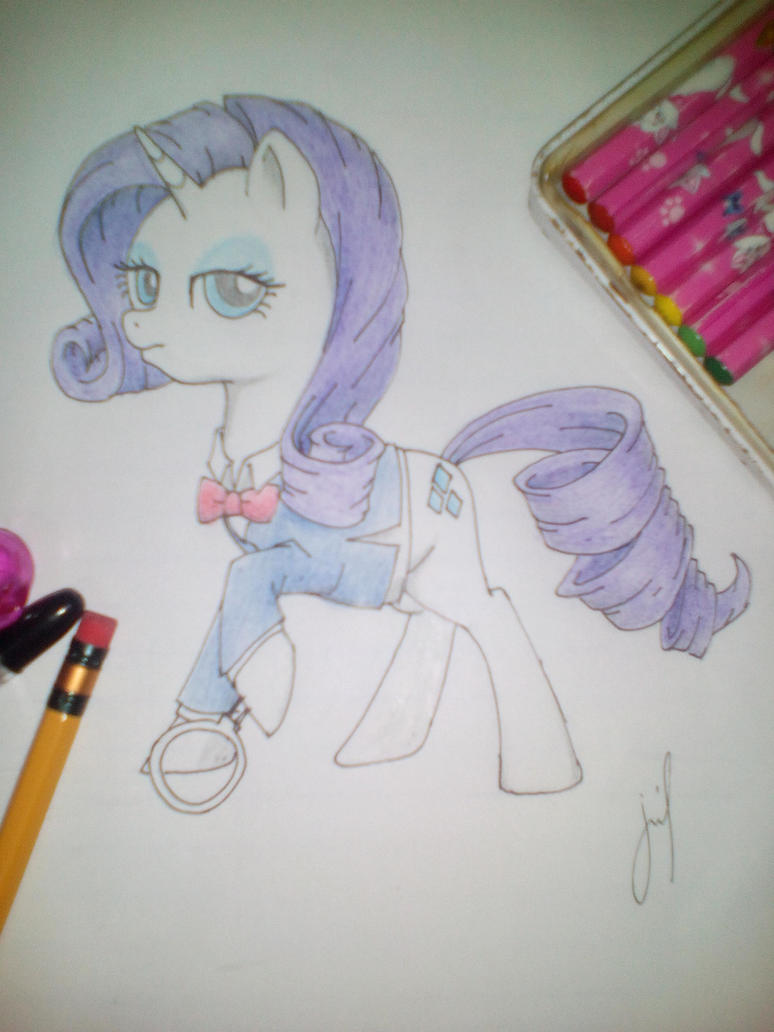 Meitantei Rarity by Jerimin19