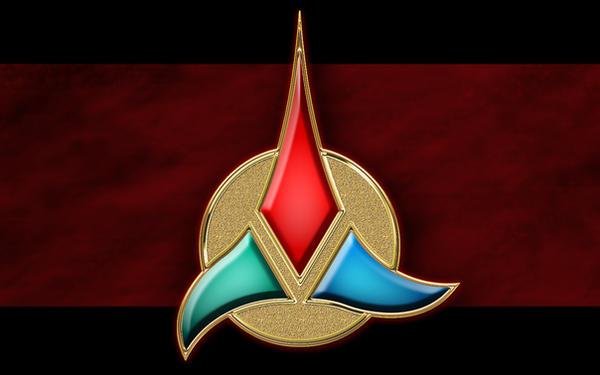klingon emblem by balsavor on deviantart. Black Bedroom Furniture Sets. Home Design Ideas