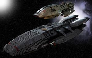Galactica and Pegasus by Balsavor