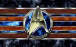 Starfleet arrowhead logo