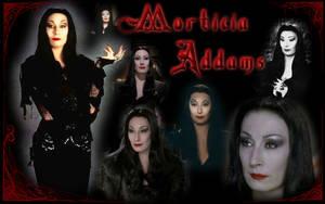 Morticia Addams by Balsavor