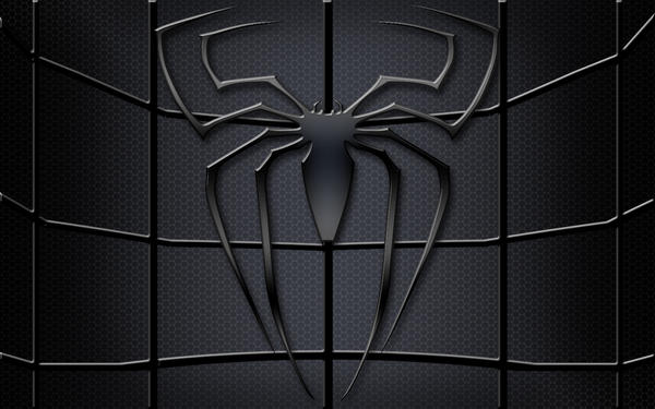 Black spiderman symbol - photo#6