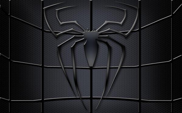 Spider-man black logo