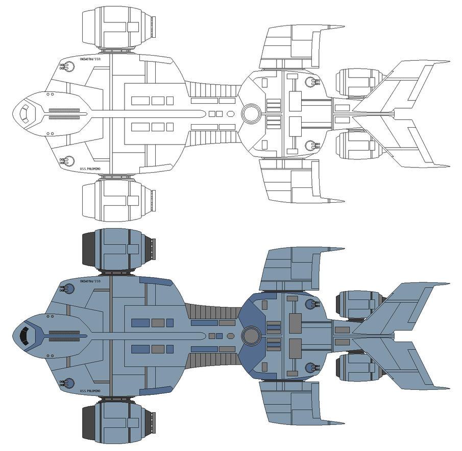 USS Palomino by Balsavor on DeviantArt