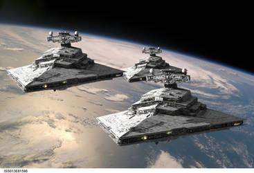 Star Destroyers by Balsavor