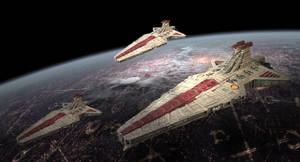 Venator class Star Destroyers