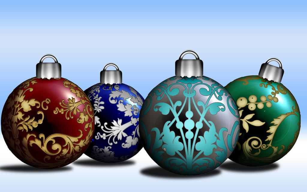 Christmas Ball Wallpaper