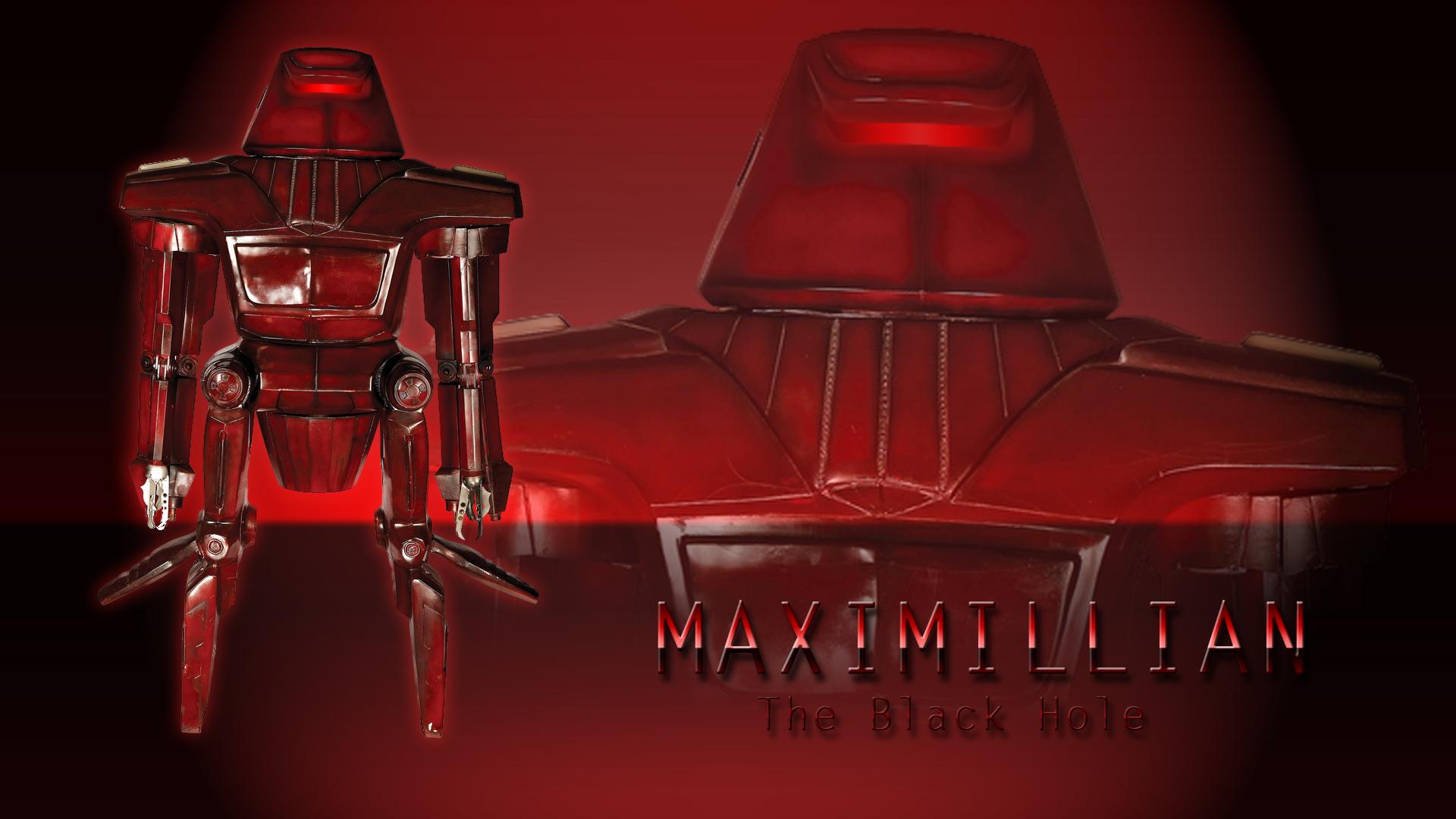 the black hole robot maximillian -#main
