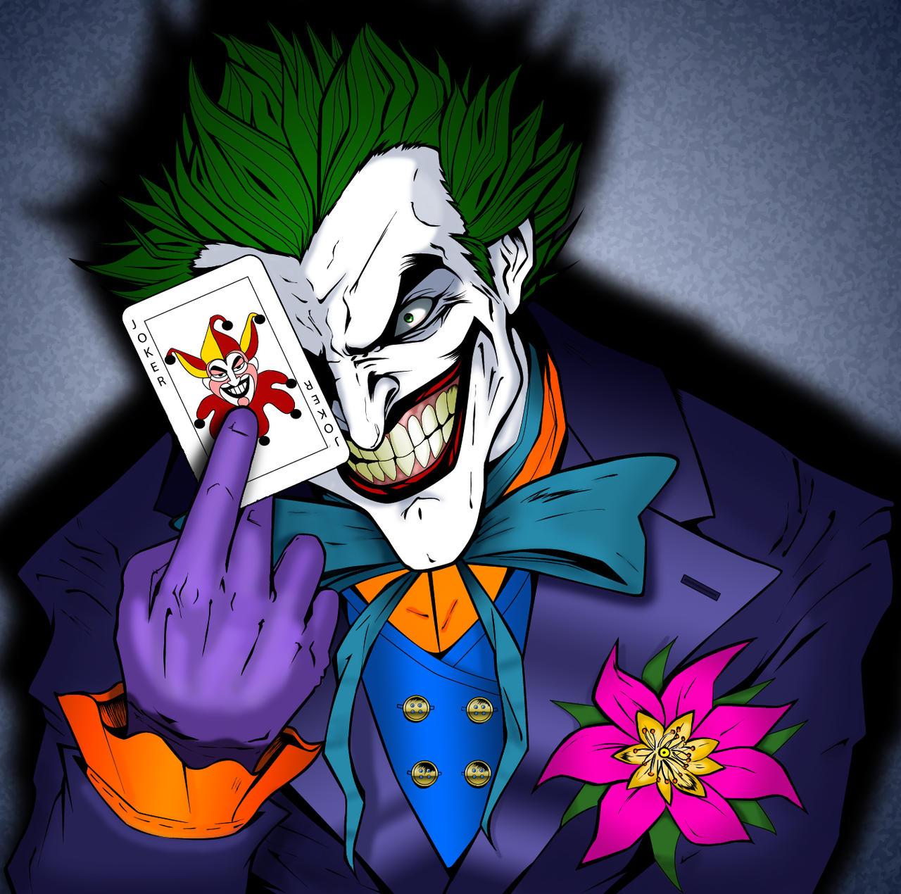 The Joker colored by Balsavor on DeviantArt