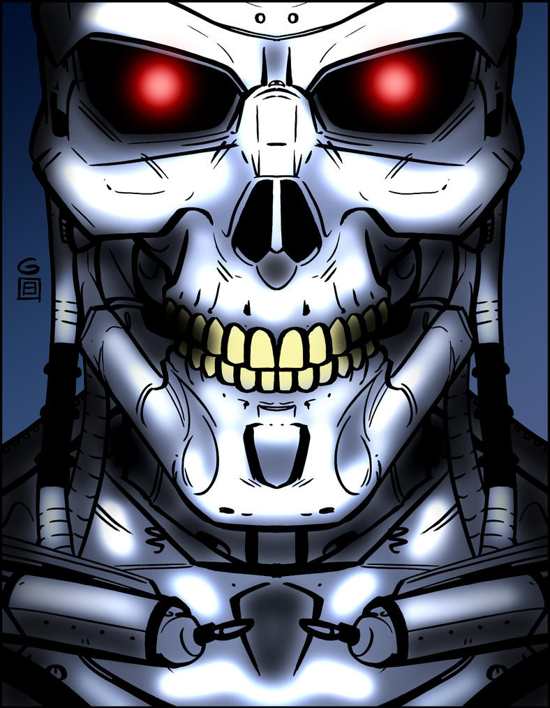 Terminator Coloring Pages  Info