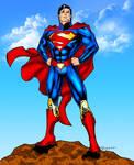DCNu Superman colored