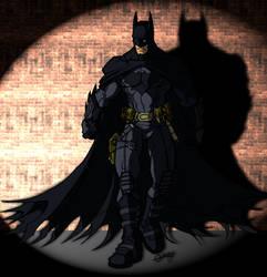 Ultimate JLA Batman colored by Balsavor