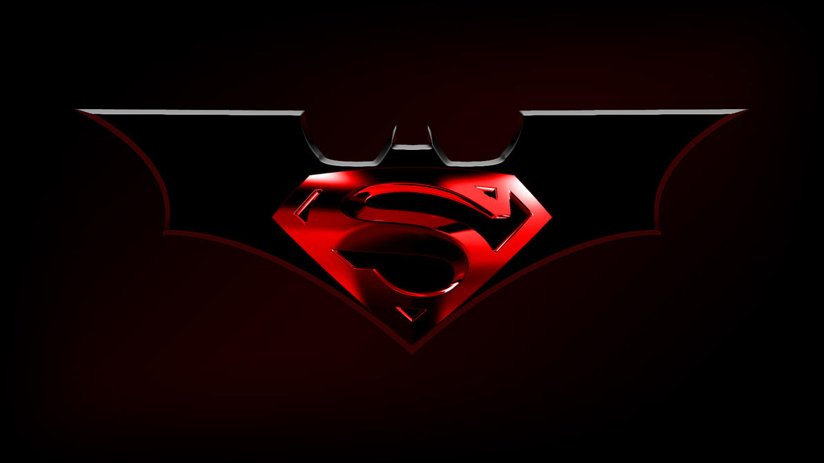 batman superman logo by balsavor on deviantart