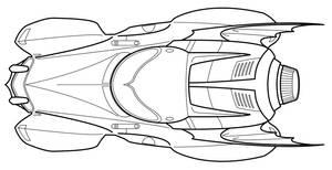Batmobile concept WIP