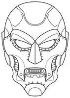 Dr. Doom mask concept by Balsavor