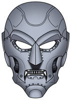 Doom mask concept colored by Balsavor