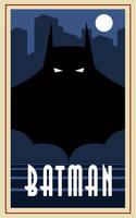 Batman poster by Balsavor