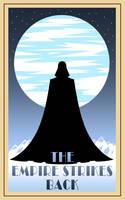 Empire Strikes Back poster by Balsavor